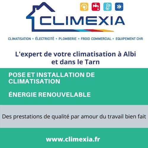 Climexia : pose et installation de climatisation